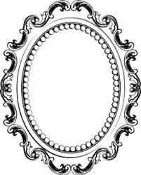 antique frame drawing. 235x292 Line Drawing Mirror Frame Clipart Panda Antique GetDrawings.com