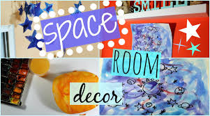 Space Bedroom Decor Diy Space And Galaxy Room Decor A And O Decor Youtube