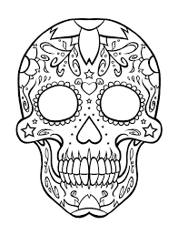 Included is a disney coco coloring sheet, a wonderful day of the dead story for kids, free for our printable for day of the dead skulls allows kids to use their creativity in design a beautiful calavera a highly decorated dia de los muertos skull printable celebrates the iconic imagery of the human. Free Skulls Day Of The Dead Coloring Pages Skull Coloring Pages Coloring Pages Free Coloring Pages