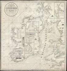 New England Nautical Charts Details About 1834 Blachford Nautical Chart Or Maritime Map Of St Georges Channel
