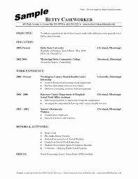 Social Worker Resume Sample msw resume sample Alannoscrapleftbehindco 53