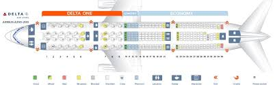 Airbus A333 Delta Seating Chart Delta Air Lines Fleet Airbus A330 200 Details And Pictures