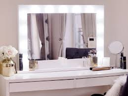 vanity mirror with lights and desk. our hollywood mirror makeup as seen on apartmentnumber4.com shop now at https: vanity with lights and desk