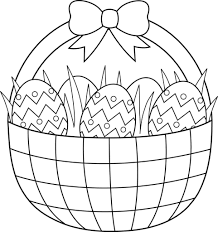 Easter Free Coloring Pages Printable Best Color My World Coloring