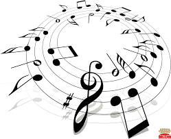 Coloring Book Outstandingree Clipart Music Notes Image