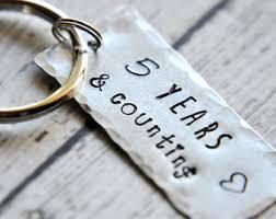 5 year anniversary etsy Wedding Anniversary Keychain Wedding Anniversary Keychain #45 25th wedding anniversary keychain