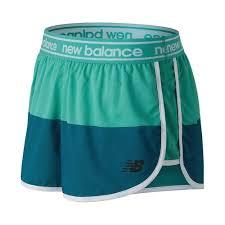 Womens New Balance WS81146 <b>Printed Accelerate</b> 25 <b>Short</b> Size ...
