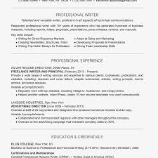 Resumes With Photos Professional Writer Resume Example And Writing Tips