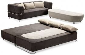 sofas that turn into beds contemporary adorable functional 3 piece collection sofa bed and ottoman of intended for 9