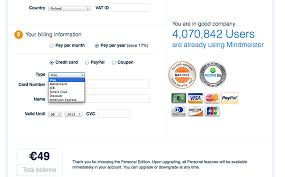 payment process easy for customers