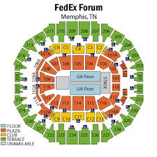 Fedex Forum Seating Chart Foo Fighters Fedex Forum Concert Seating Chart Elcho Table