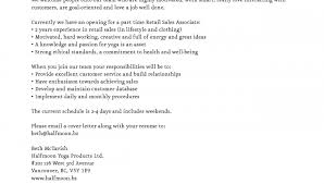 Retail Sales Associate Job Description For Resume Inspirational