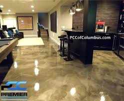 paint for basement walls how to paint basement floor with paint basement flooring metallic