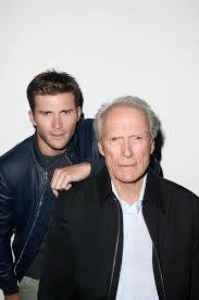 Clint and Scott Eastwood No Holds Barred in Their First Interview. On Scott Jacket and T shirt by Burberry. On Clint Jacket and shirt by Burberry.