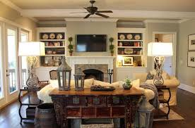 Country Living Room Decorating Ideas French