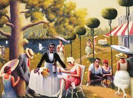 archibald john motley jr american harlem renaissance painter 1891 1981 lawn party 1937