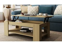 caspian lift top coffee table with storage shelf espresso inside uk