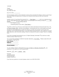 Sample Non Renewal Letter To Tenant 71 Images Landlord To