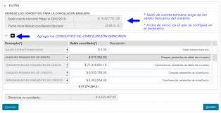 Conciliacin Bancaria Siu Pilaga Version3 1 4 Documentacion De Las Operaciones