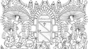 Small Picture Free Garden Coloring Page for Adults Crafts on Sea