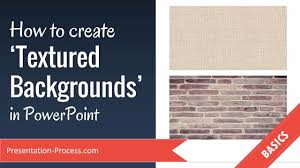 How To Create Textured Backgrounds In Powerpoint Youtube
