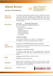 Business Administration Resume Samples Example Curriculum Vitae