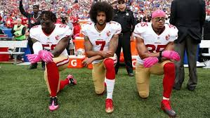 Image result for steelers player comes out for anthem