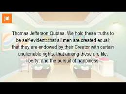 Who Wrote The Quote Life Liberty And The Pursuit Of Happiness YouTube Stunning Life Liberty And The Pursuit Of Happiness Quote