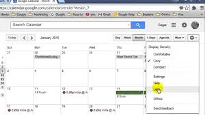 How To Show Year View In Google Calendar - Youtube