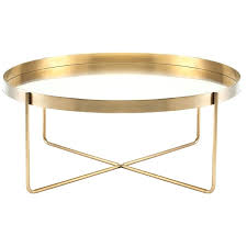 round gold coffee table modern coffee table gold gold coffee table set