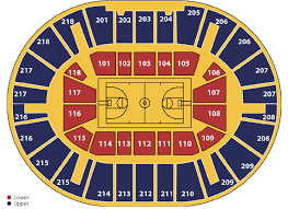 Knicks Seating Chart Basketball Seating Niu Convocation Center