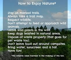get out and enjoy nature get outside and enjoy nature