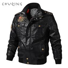 <b>CHUQING Spring And Autumn</b> New Stand Collar Men'S Motorcycle ...