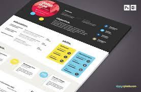 free resume templates creative creative resume. resume the ... clean resume free psd template