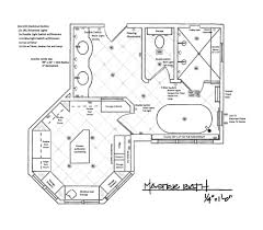 Bathroom Floor Plan Incredible Bathroom Plans Mzarb