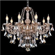 modern crystal chandelier lighting cognac candle pendant lights living room restaurant hotel villa hotel ballroom pendant lamp crystal chandelier modern