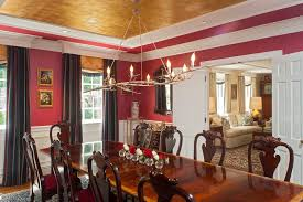 lancaster pennsylvania united states faux painted ceilings with contemporary curtain panel pairs dining room traditional and