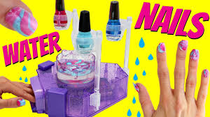 Awesome Water Nail Kit DIY Tie Dye Colored Nail Art For Girls ...