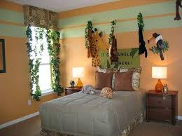 jungle themed furniture. Delighful Jungle Safari Themed Bedroom Adorable Jungle  Furniture With D