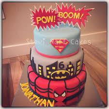Superhero Cake Design Super Heroes Cake By Stevi Raff Cake Design Superhero Cake