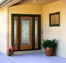glass panel exterior door wen exterior doors delightful architectural glass panel fiberglass door oak sidelights decorative