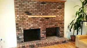 can you mount a tv above a brick fireplace can you mount a on a brick