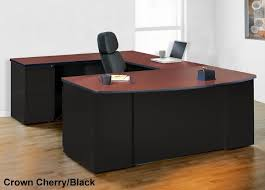 u shaped computer desk. Mayline CSII Series Bow Front U Shaped Office Desk 3 Color Options Computer F