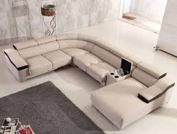 genuine and italian leather corner sectional sofas contemporary designer all leather sectional