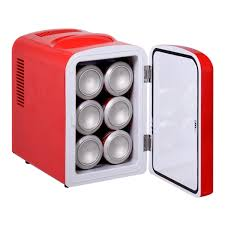 small portable office. Portable Mini Fridge Cooler And Warmer Auto Car Boat Home Office AC \u0026 DC Red Small S
