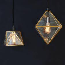west elm lighting. Brass And Glass Pendants From West Elm Lighting