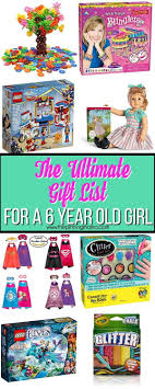The Ultimate Gift List for A 6 Year Old Girl \u2022 the Pinning Mama Concept Of Best Gifts and toys 2 Girls Christmas