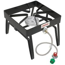 bayou classic 55 000 btu propane gas single burner outdoor stove