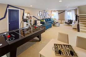 Image Modern 1 Lower Level Rec Room Is The Perfect Place For The Kids To Play While Escaping The Summer Heat Via Detectview 35 Extraordinary Recreation Room Ideas To Spice Up Your House