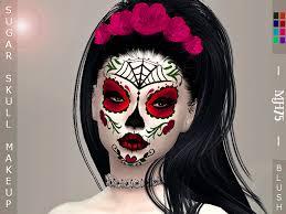 s4 sugar skull makeup